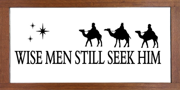 Christmas Wise Men  - Reusable Stencil For Wood Sign