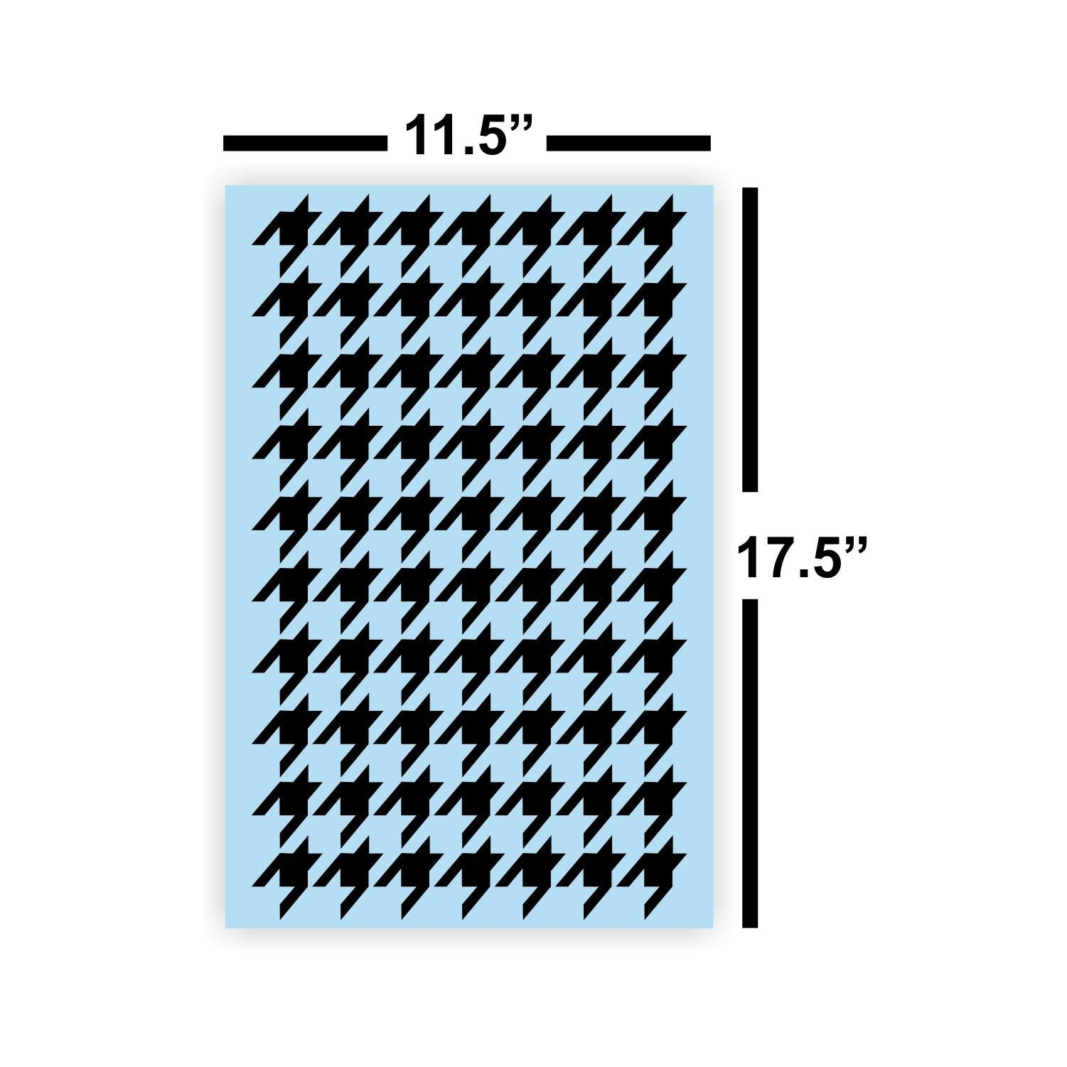Houndstooth Reusable Stencil, Large,  For Painting a Wood Sign, Country Farmhouse Style