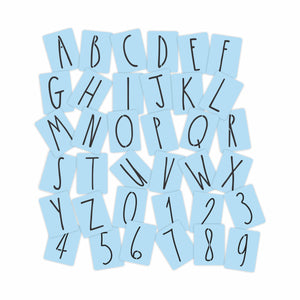Rae Dunn Inspired Stencil Letters- 4 Inch Letters & Numbers - Reusable - Paint Your Own Wood Sign