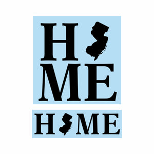 New Jersey Home Stencil Bundle - Paint Your Own Wood Sign - Reuseable