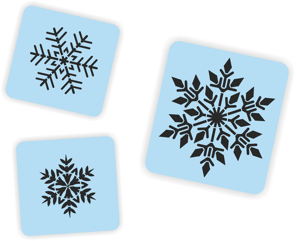 Let It Snow Porch Sign Stencil Kit