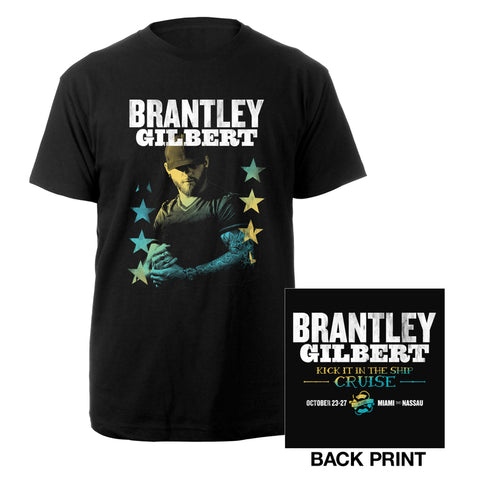 KICK IT IN THE SHIP PHOTO TEE-Brantley Gilbert