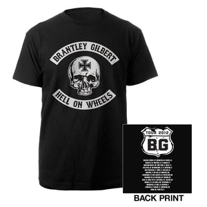 Hell on Wheels Highway Tee-Brantley Gilbert