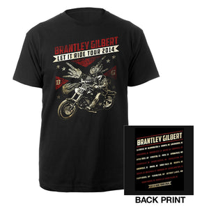 Biker Flag Tee-Brantley Gilbert