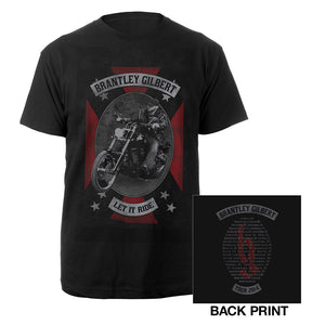 Cycle Oval Tee-Brantley Gilbert