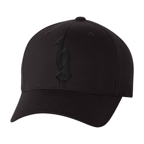 BG Black Logo Flex Hat-Brantley Gilbert
