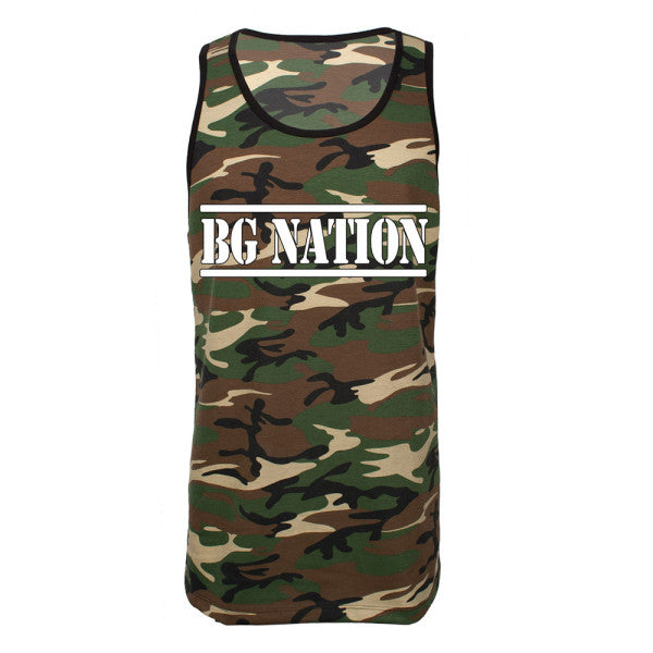 BG Nation Men's Camo Tank-Brantley Gilbert