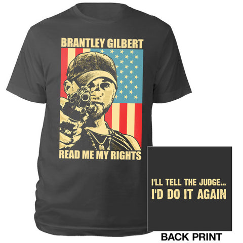 Brantley Gilbert READ ME MY RIGHTS Shirt BLACK-Brantley Gilbert