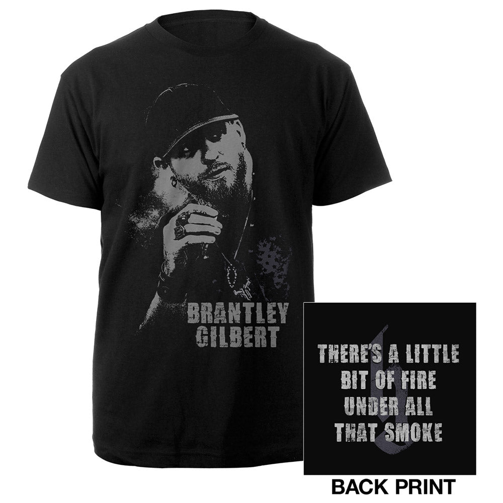 Brantley Gilbert Portrait Shirt-Brantley Gilbert
