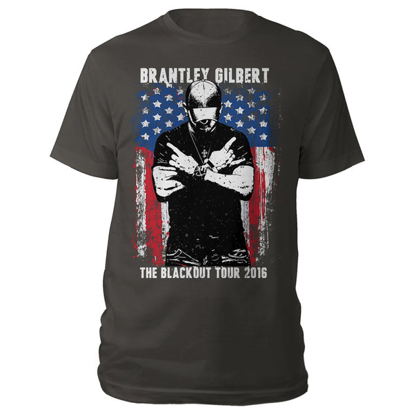 Crossed Arms Tour 2016 Tee-Brantley Gilbert