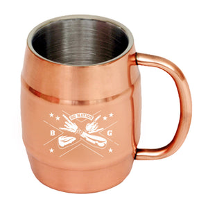 Crossed Arms Moscow Mule Mug-Brantley Gilbert