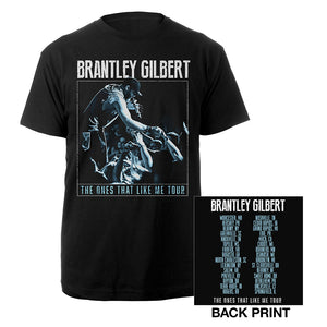 The Ones That Like Me Live Photo Tee-Brantley Gilbert