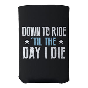Down To Ride Can Coozie-Brantley Gilbert