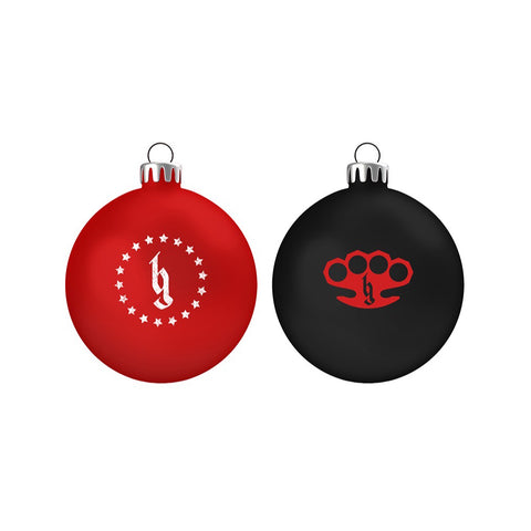 BG Holiday 2 Pack Ornaments