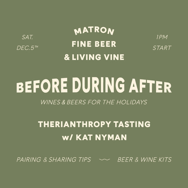 THERIANTHROPY WINE POP-UP