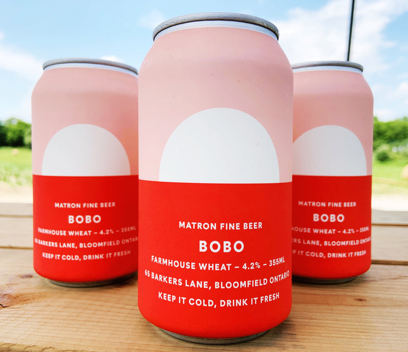 355ml BOBO FARMHOUSE WHEAT