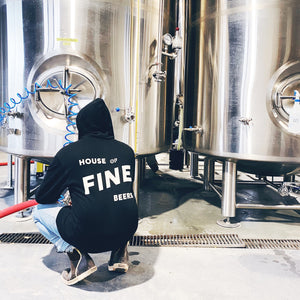 ZIP-UP HOODIE, HOUSE OF FINE BEER