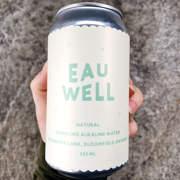 355ml EAU WELL - SPARKLING WATER