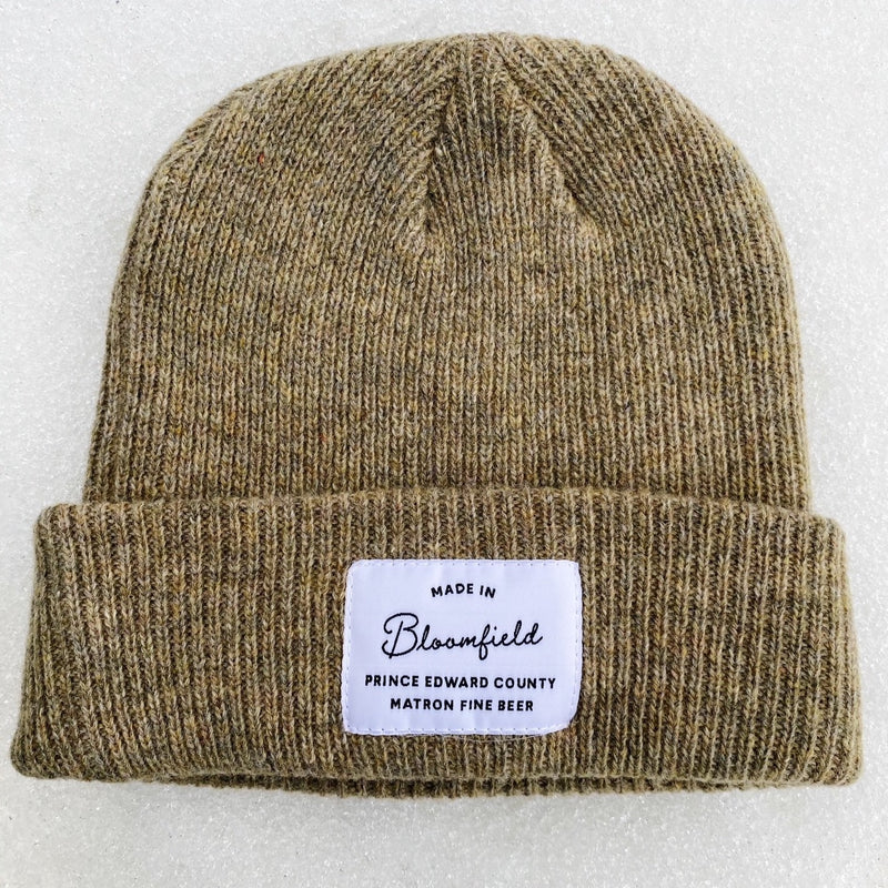 MERINO WOOL TOQUE - OATMEAL