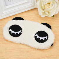 1PC Cute Unicorn Eye Mask Cartoon Sleeping Mask Plush Eye Shade Cover Eyeshade Suitable For Travel Home Party Gifts DROPSHIP
