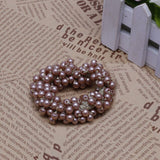 Hair Accessories Fake Pearls Ponytail Holder Girls Headdress Hair Ropes Gift