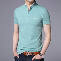 High Quality Men Polo Shirt Mens short Sleeve Solid Polo Shirts Camisa Polos Masculina 2018 Casual cotton Plus size S-3XL Tops