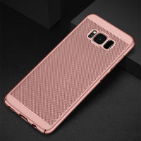 Luxury Heat Dissipation Case For Samsung Galaxy S8 S9 Plus S6 S7 Edge S5 A3 A5 A7 J3 J5 J7 2016 2017 A8 2018 Cover Cases shell