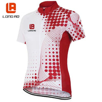 Women's Cycling Jerseys LONG AO classic bicycle jersey Team bike Tops Cycling jersey short sleeve Cycling wear Quick Dry