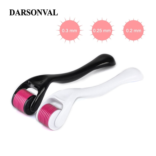 DARSONVAL DRS 540 derma roller micro needles titanium microneedle mezoroller machine for skin care and body treatment