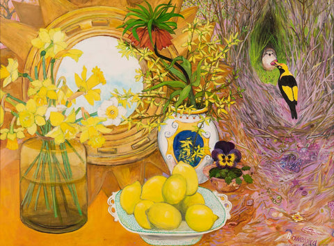 Bowerbird and Lemons