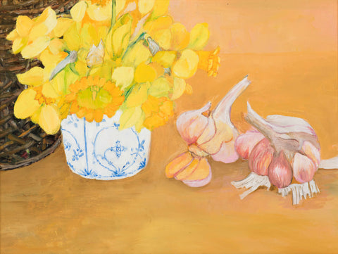 Daffodils and Garlic
