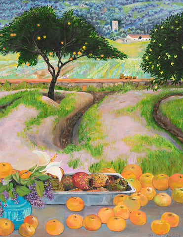 Orange Grove in Sicily
