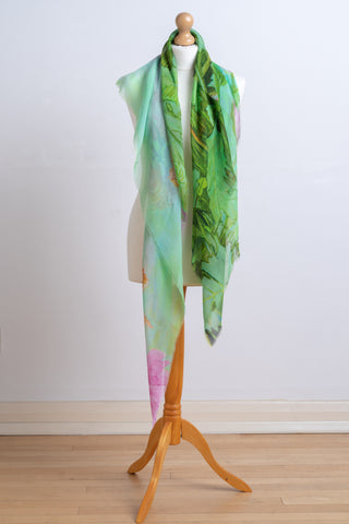 Scarf - Silk Chiffon 'My Favourite Ghosts'
