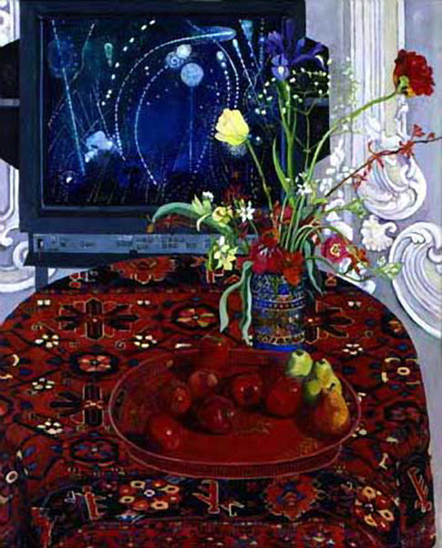 Apples painted on January 17th 1991