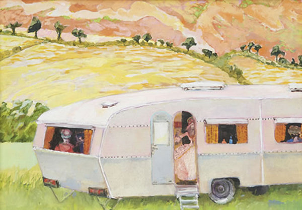 Caravan with Actors