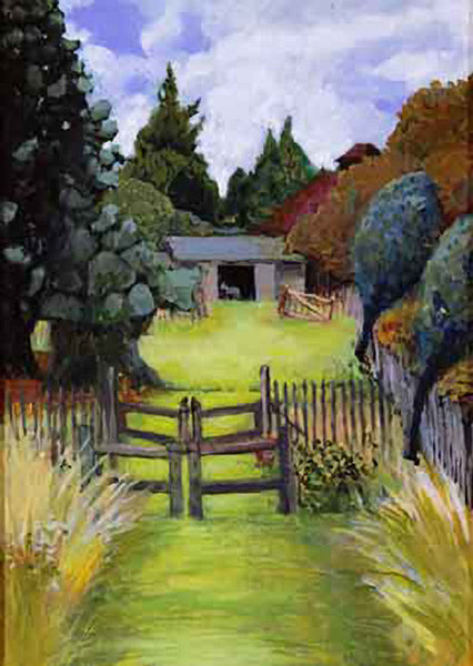 Gate to Donkey Field