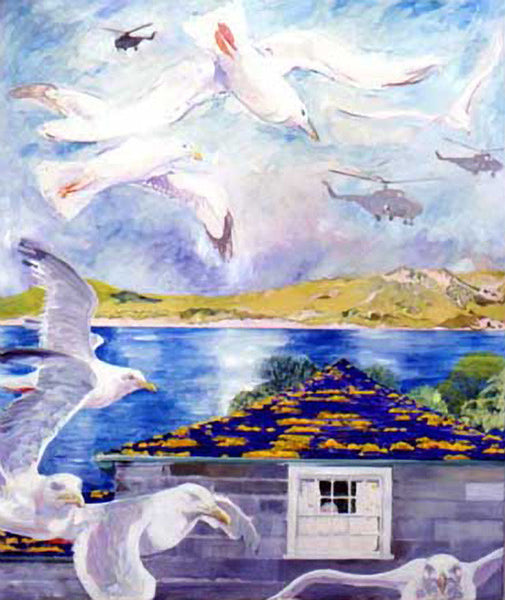 Gulls and Helicopters