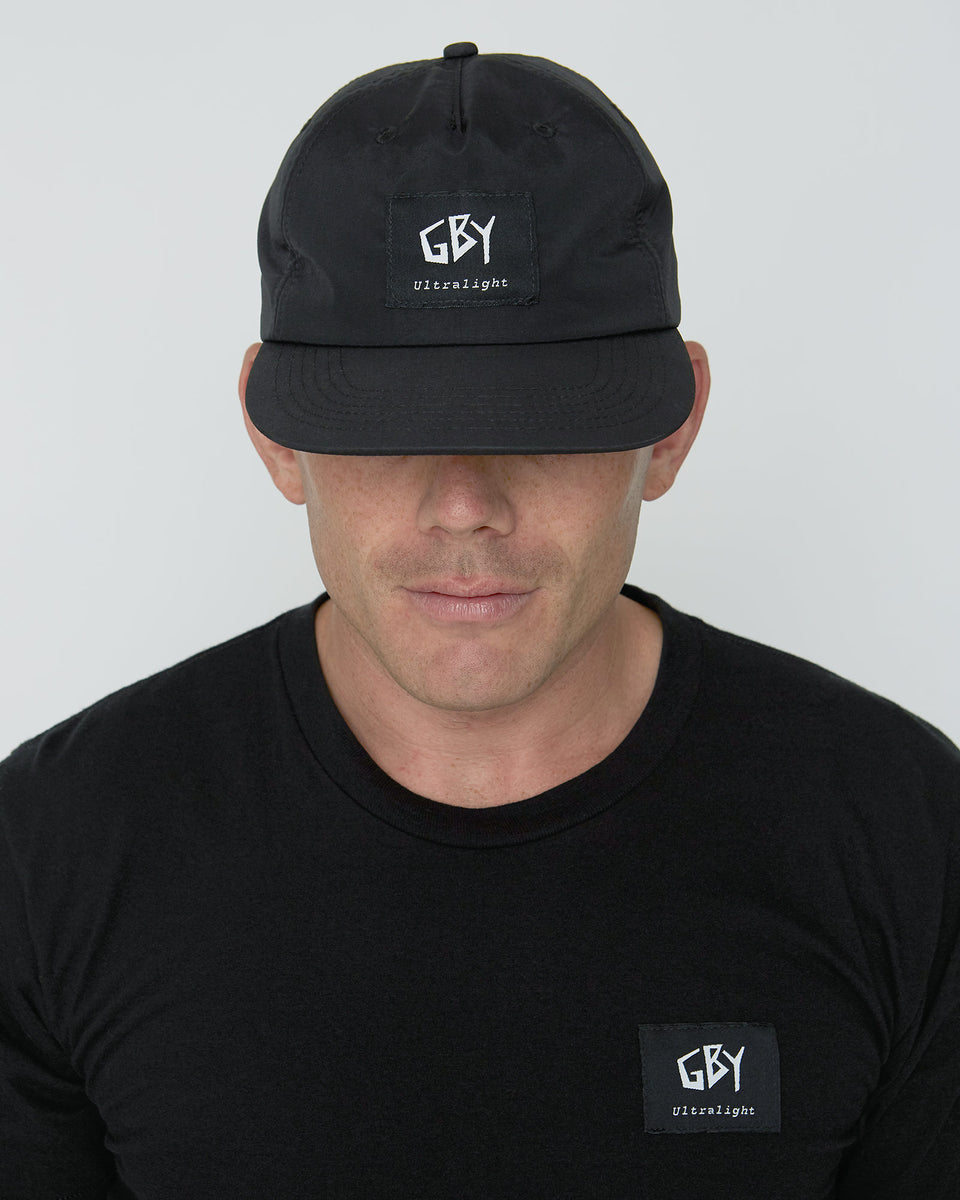 GBY Ultralight Black Label Hat Front View