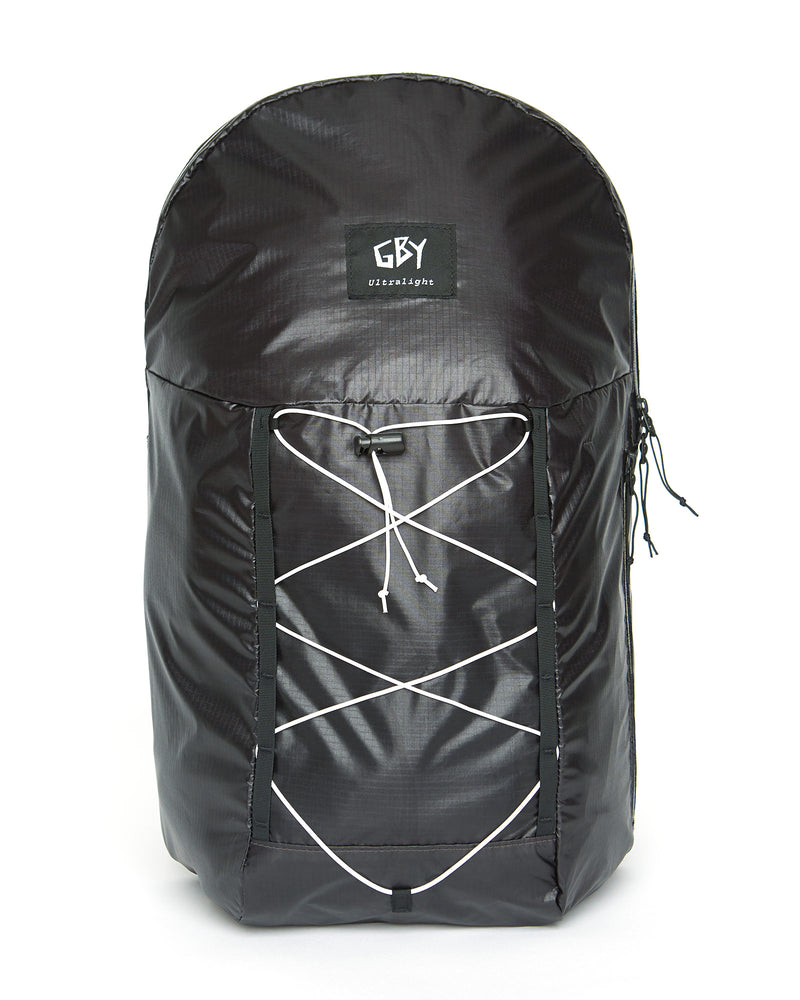 color: black ~ alt: GBY Ultralight Laptop Day Pack Backpack Lightest In The World