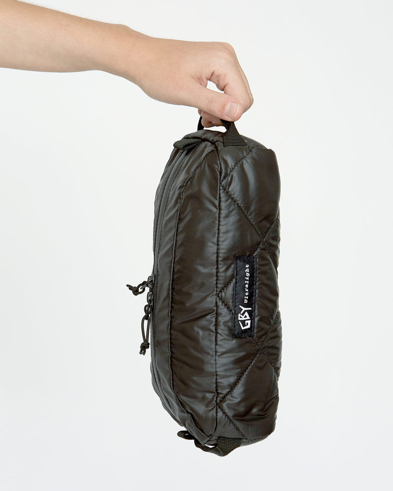 color: black ~ alt: GBY Ultralight - Utility Pouch Toiletry Kit Dopp Travel