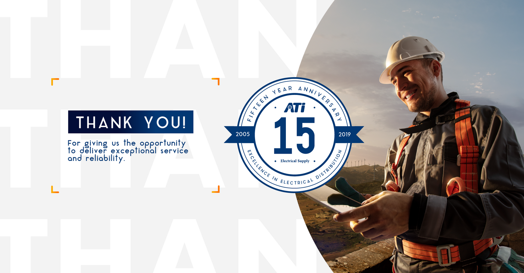 ATI Electrical Supply Celebrates 15 Year Anniversary with New Website Launch
