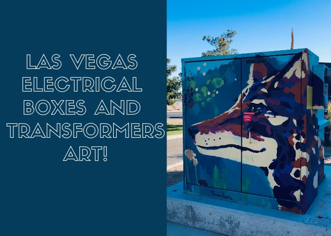 Las Vegas Livens up Electrical Boxes and Transformers