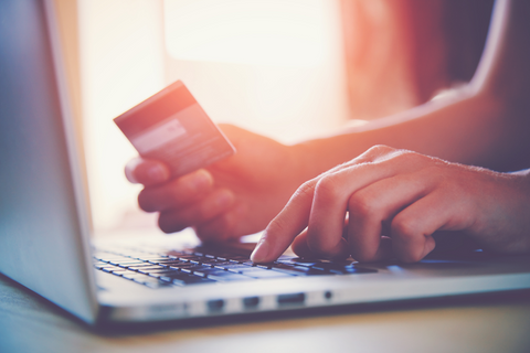 paying online with credit card another online benefit - secure payment