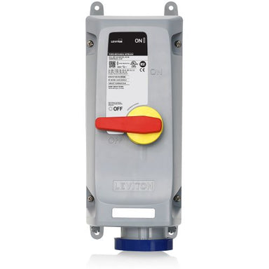 60 Amp, 120/208 Volt 3-Phase Pin & Sleeve Mechanical Interlock