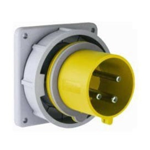 Arrow Hart Inlet Pin&Sleeve 100A 125V 2P3W White  Yellow