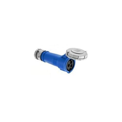 Arrow Hart Connector Pin&Sleeve 100A 250V 2P3W White  Blue