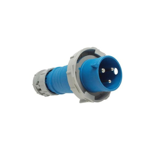Arrow Hart Plug Pin&Sleeve 100A 250V 2P3W White  Blue
