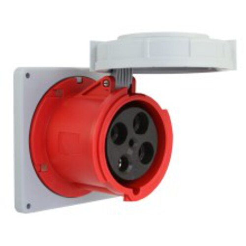 Arrow Hart Receptacle Pin&Sleeve 60A 480V 2P3W White  Red