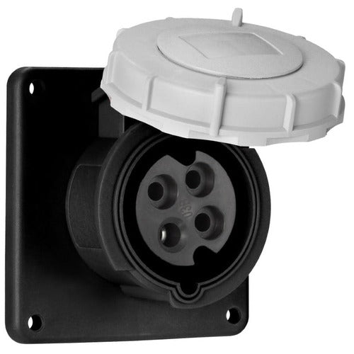 Arrow Hart Receptacle Pin&Sleeve 100A 600V 3PH 3P4W White  Black