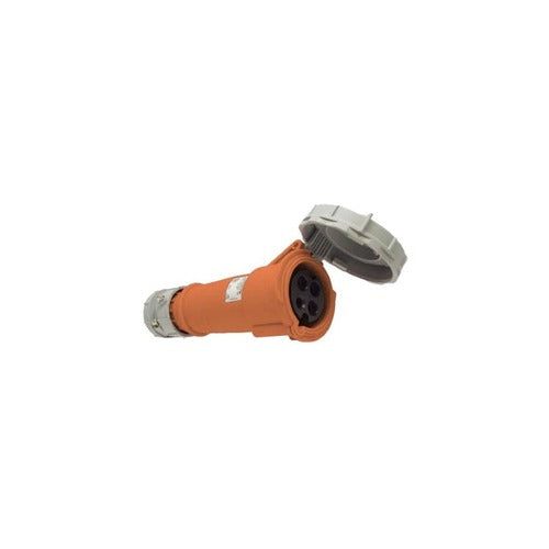 Arrow Hart Connector Pin&Sleeve 30A 125/250V 3P4W White  Orange